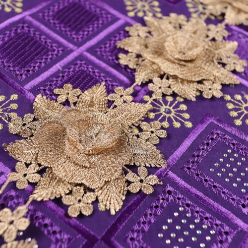 Water Soluble Lace Trim Wedding Embroidery Ribbon Lace Trim Gold Lace Trimming UK