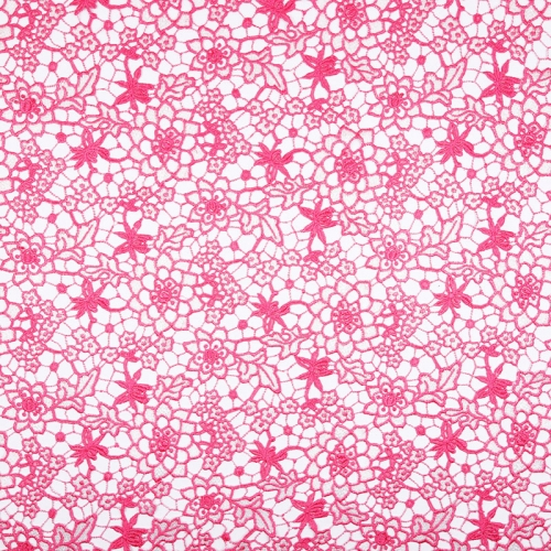 French embroidery guipure pink lace fabric embroidered swiss 120-135 cm guipure chemical lace fabric