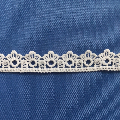 New Fancy Lace Trim Ivory Trim Lace Embroidery White Milk Lace