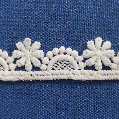 1.5 cm White Lace Trim Embroidery Ivory Lace Trimming Embroidery