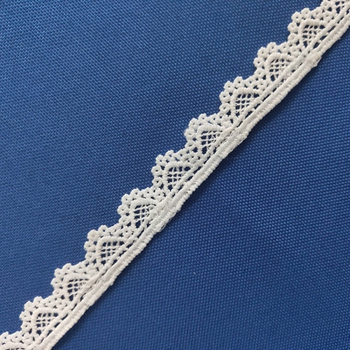Wholesale Cheap White Embroidery Guipure Lace Trim for Bridal Dresses